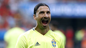 'First Ronaldo, now this': Zlatan targeted over restaurant meal snaps as he hits headlines again after red for referee row (VIDEO)