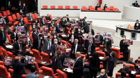 Turkey calls for respect for its judicial process as it rejects international condemnation of move to ban pro-Kurdish party