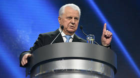 Former Ukrainian president Kravchuk says country will be invaded by Russia as Moscow seeks to solve Crimea's water-supply problem