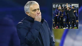 'I can only apologize': Disaster at Dinamo for Jose Mourinho as Croatian champs leave Tottenham's Champions League tilt in tatters