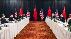 US accuses Beijing of sabotaging 'rules-based' world order & decries 'protocol violation' after Chinese hit back at Alaska talks