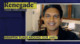 Wrappin' our flags around our jabs?!