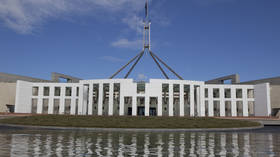 'Sex act on female MP's desk': Leaked graphic imagery shows staffers performing lewd acts in Australian parliament, one now sacked