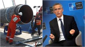 No 'consensus' at NATO on whether to support or oppose Germany-Russia Nord Stream 2 pipeline – US led bloc's Stoltenberg