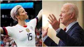 Not worthy enough for woke brigade? Justice crusader Rapinoe rips into NBA star – despite his efforts to HELP women