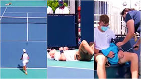 British tennis prodigy Jack Draper forced out of Miami Open after COLLAPSING on court during ATP Tour debut (VIDEO)