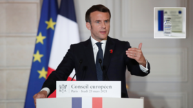 Russia waging 'war' on West, using its homegrown Covid-19 vaccines as tool for political influence, French President Macron claims