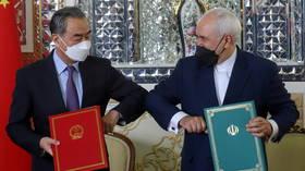 Iran & China ink 25-year strategic partnership accord as both nations face US pressure