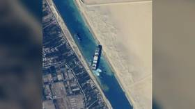 Russian cosmonaut shows how Suez Canal looks from International Space Station (PHOTOS)