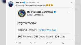 'Tweeting our launch codes?' US Strategic Command sends cryptic tweet, setting off panic & speculation