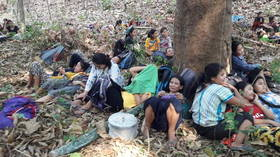 Myanmar refugees fleeing military crackdown turned away by neighboring Thailand & India – reports