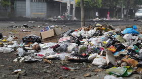 Activists fill Myanmar streets with rubbish in anti-coup 'garbage strike' (PHOTOS)