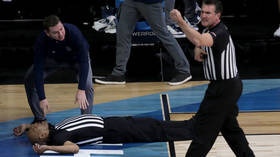 Police investigate after referee gets SUPLEXED at girls basketball game in US (VIDEO)