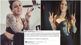 'A woman can post whatever she wants!' UFC's Megan Anderson takes on toxic 'she asked for it' trolls