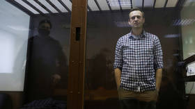 Jailed Russian opposition figure Navalny announces he will go on hunger strike, demands medication & doctor of his own choosing