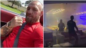 Conor McGregor demands UFC create 'Richest Motherf*cker Belt' as he flashes $600K 'casino on my wrist'