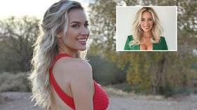 'For the haters to dry their tears with': Golf influencer Spiranac plugs merchandise in latest rebuttal to 'cleavage critics'