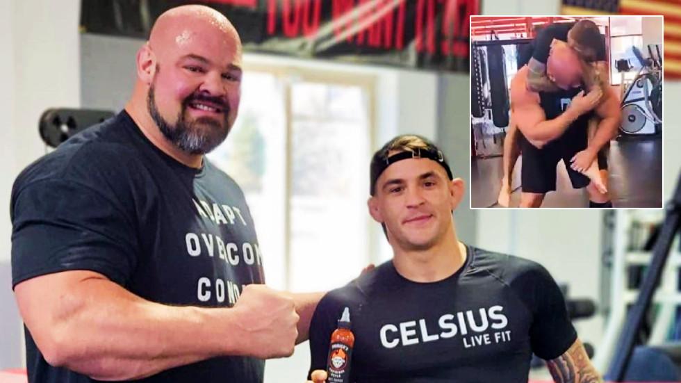 UFC star Poirier proves size doesn't matter
