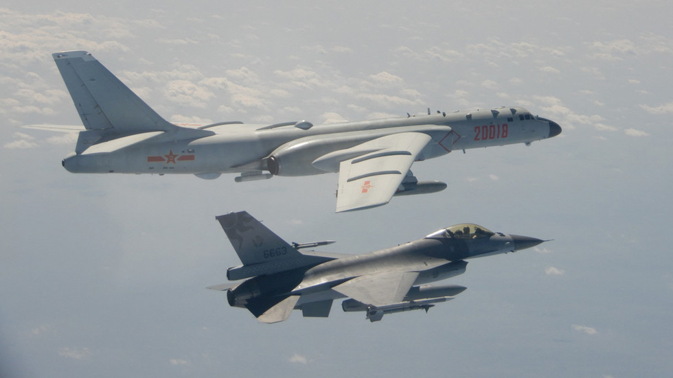 Taiwan claims 11 Chinese planes entered its defense zone in latest flyby