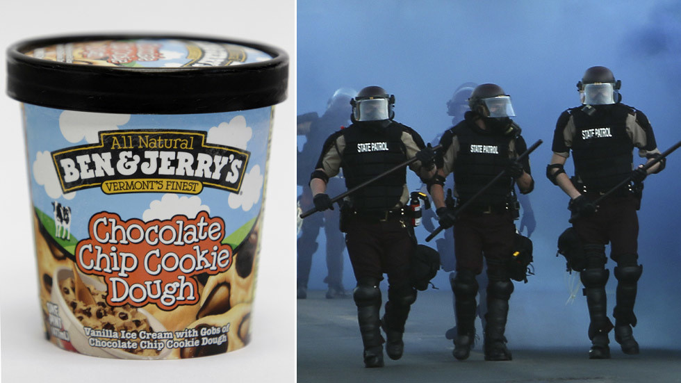 'I'm going to start shoplifting ice-cream': Ben & Jerry's whips up Twitter storm after saying police forces 'must be dismantled'