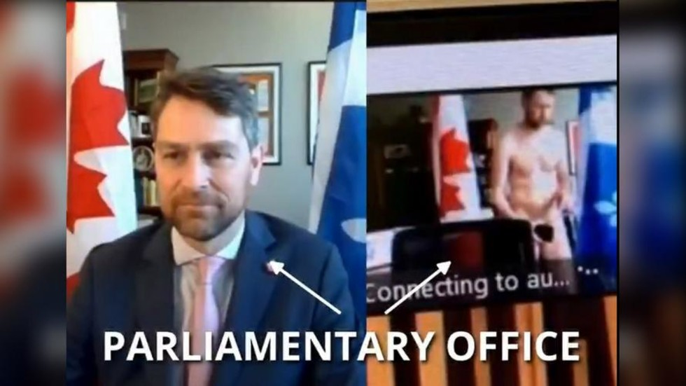 'In good shape but inappropriate': Canadian MP scolded for walking around NAKED during official session