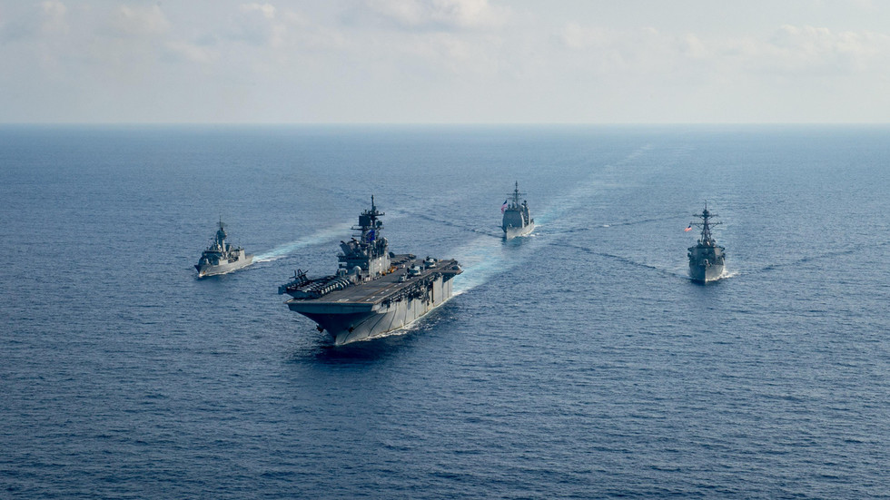 """Australischer Innenminister warnt vor den """"Kriegstrommeln"""" inmitten asiatisch-pazifischer Spannungen"""