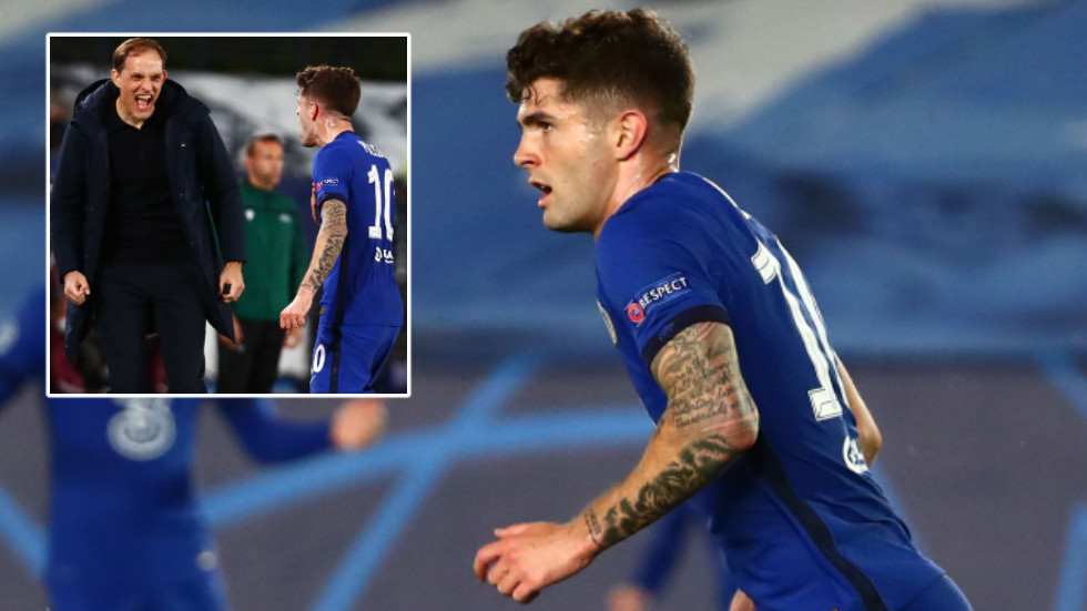 Christian Pulisic becomes the first American to score in Champions League