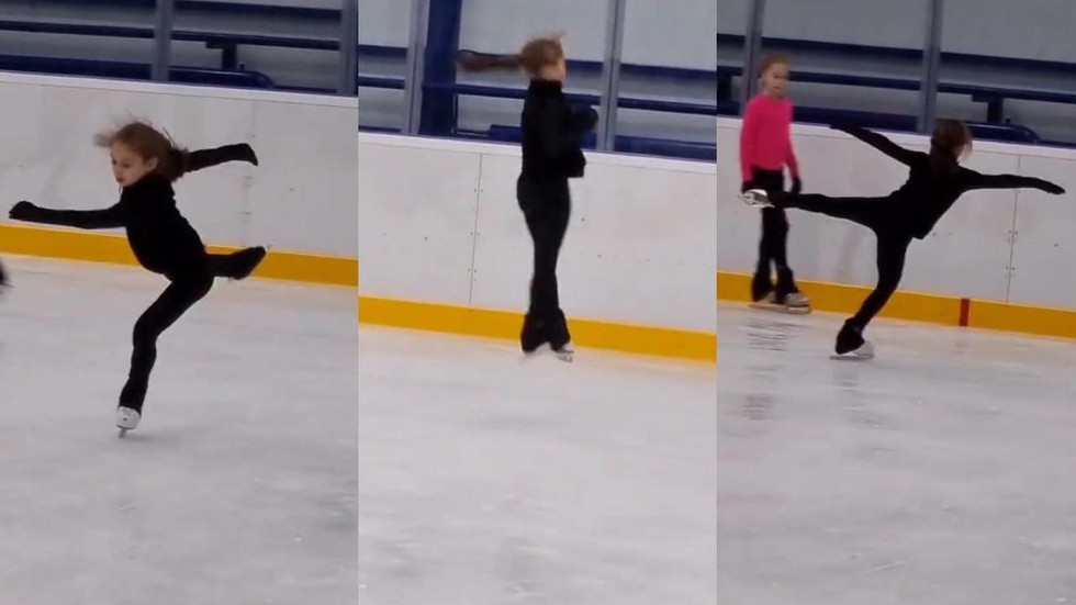 Russian skater lands most difficult jumping combo