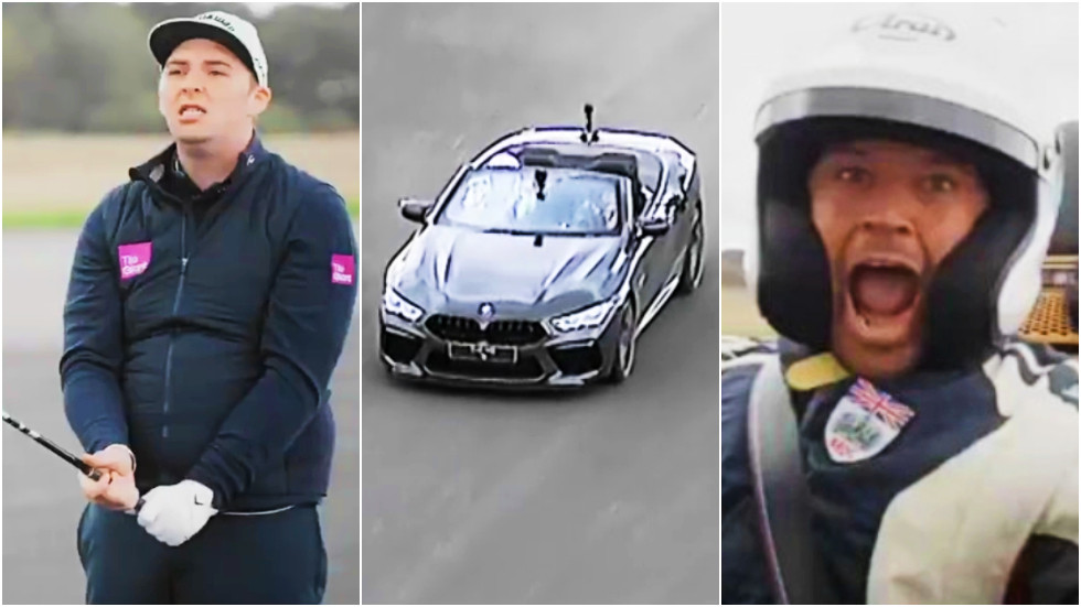 Pro golfer and racing driver break world record