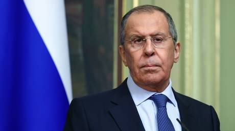 Russian Foreign Minister Sergey Lavrov © RIA