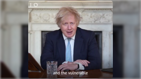 Screenshot © Twitter / @BorisJohnson
