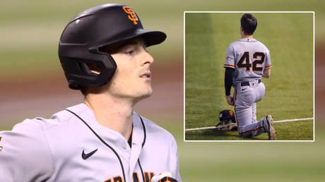San Francisco Giants outfielder Mike Yastrzemski has spoken about kneeling © Mark J Rebilas / USA Today Sports via Reuters