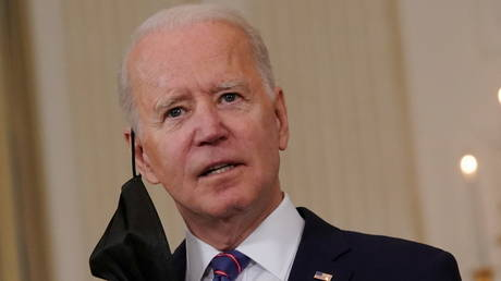 FILE PHOTO: US President Joe Biden.