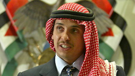 FILE PHOTO: Jordan's former Crown Prince Hamzah bin Hussein, August 21, 2004