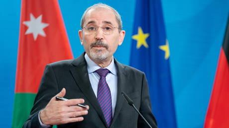 FILE PHOTO. Jordan's Foreign Minister Ayman Safadi. ©Kay Nietfeld / Pool via REUTERS