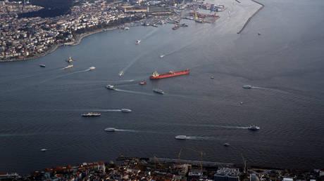 FILE PHOTO. Haydarpasa port and southern entrance of the Bosphorus strait. ©REUTERS / Murad Sezer