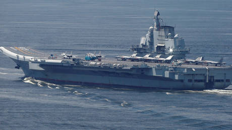 FILE PHOTO. China's aircraft carrier Liaoning.