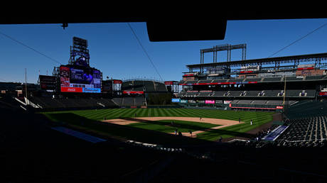 A view of Coors Field in Denver, which will now host the 2021 MLB All-Star game.  © USA Today Sport