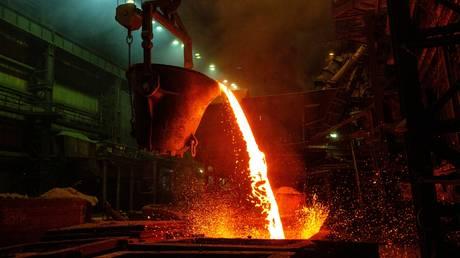 FILE PHOTO: A smelting workshop at the Norilsk Nickel plant, Russia © Sputnik / Pavel Lvov