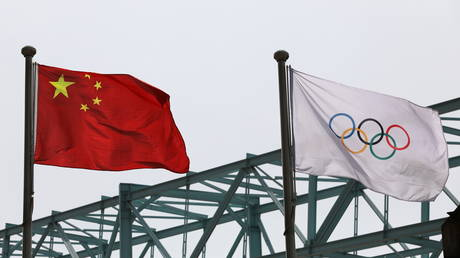 China has responded after talk of a US boycott of the Beijing Games. © Reuters