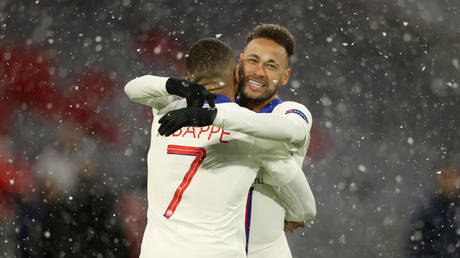 Neymar and Mbappe helped PSG to victory over Bayern. © Getty Images