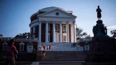 FILE PHOTO. The Rotunda at the University of Virginia campus in Charlottesville, VA © Getty Images / Jabin Botsford