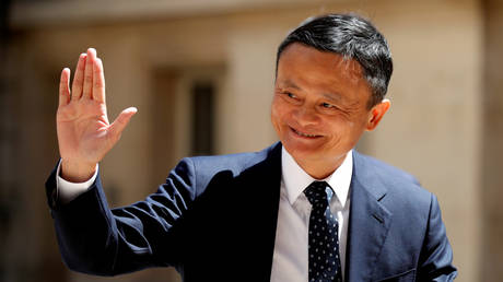 Jack Ma, billionaire founder of Alibaba Group, Paris, France May 15, 2019. © Reuters / Charles Platiau