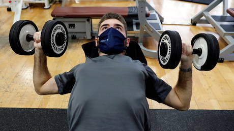 Innovative facemask design from Russia promises to make breathing EASY at work or gym