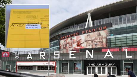 Le club de Premier League, Arsenal, jette son poids derrière les « passeports vaccinaux » alors qu ...