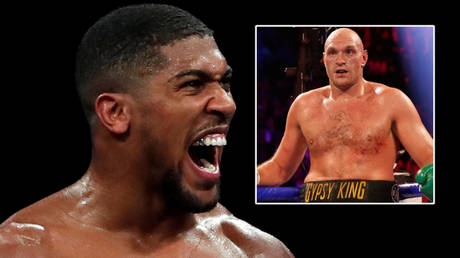Boxing stars Tyson Fury (right) and Anthony Joshua are expected to meet this summer © Andrew Couldridge / Reuters | © Steve Marcus / Reuters