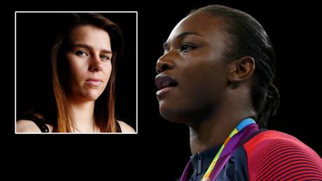 Boxing champ Claressa Shields (right) could face Savannah Marshall © Jason Cairnduff / Reuters   © Matthew Childs / Reuters