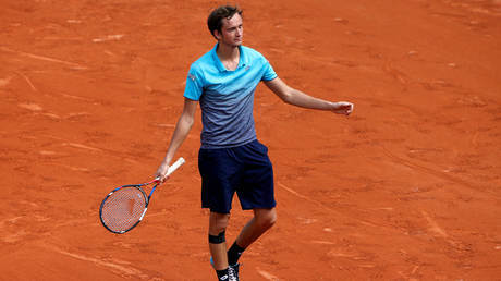 Tennis ace Daniil Medvedev © Reuters / Pascal Rossignol