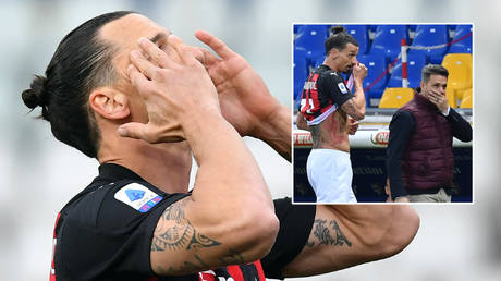 'First Ronaldo, now this': Zlatan targeted over restaurant meal snaps as he hits headlines again after red for referee row (VIDEO) thumbnail