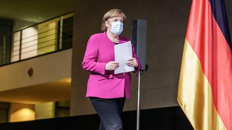 German Chancellor Angela Merkel (FILE PHOTO) © Michael Kappeler/Pool via REUTERS